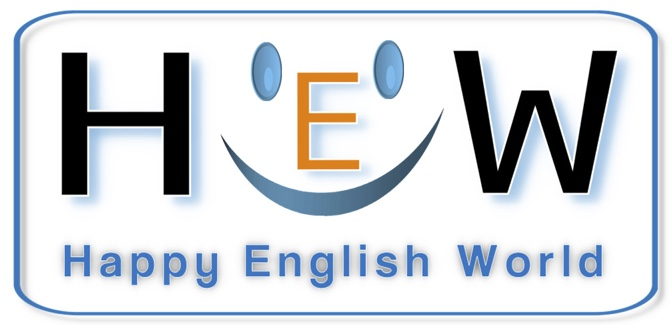 Happy English World - Logo